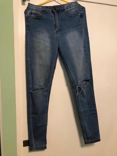 jeans chupin mujer importados