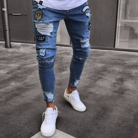 d3a047c388 Pantalones Rotos Para Hombre Jeans Y Leggins - Ropa