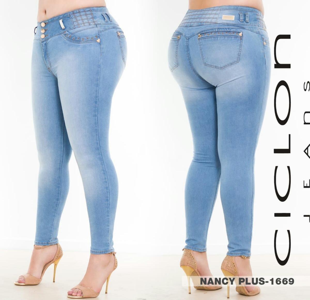 c6b6a0ee3b jeans ciclon pantalón mujer corte colombiano talla extra d. Cargando zoom.