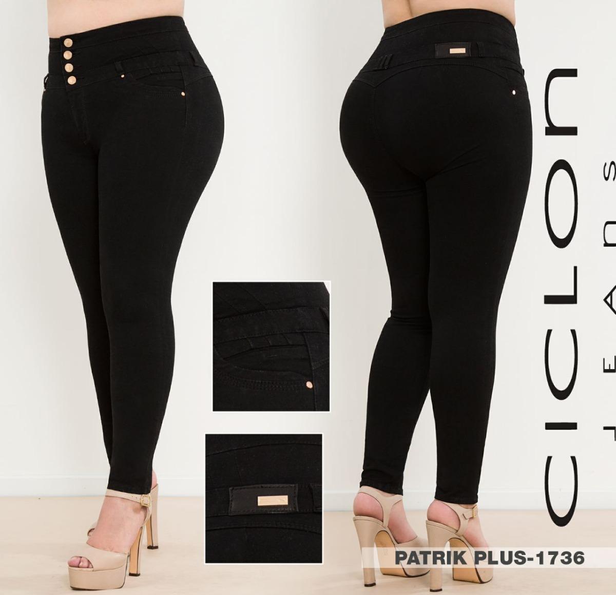 145fb73842 Jeans Ciclon Pantalón Mujer Corte Colombiano Talla Extra E ...