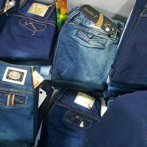jeans clásicos para dama