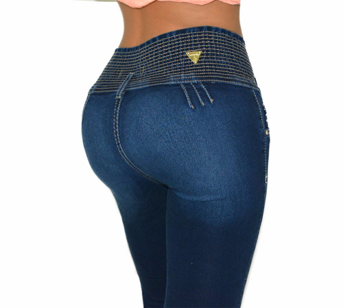 jeans colombianos push up levanta pompis sexys resorte
