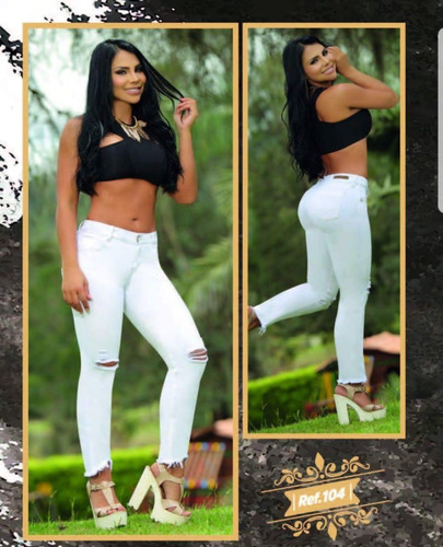 jeans colombianos y fajas myd