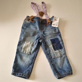 4f20ce06 Jeans Con Tiradores Mujer - Ropa y Accesorios Azul claro en Mercado ...
