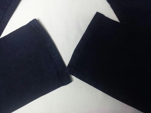 jeans corte alto strech talla 23-24 bota tubo