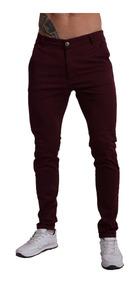 diseñador de moda 53138 91731 Jeans Corte Chino Localizado Chupin Elastizado 36 Al 48