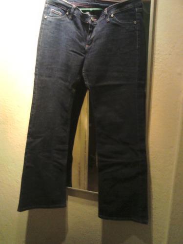 jeans dama lee. azul, talla 42-44