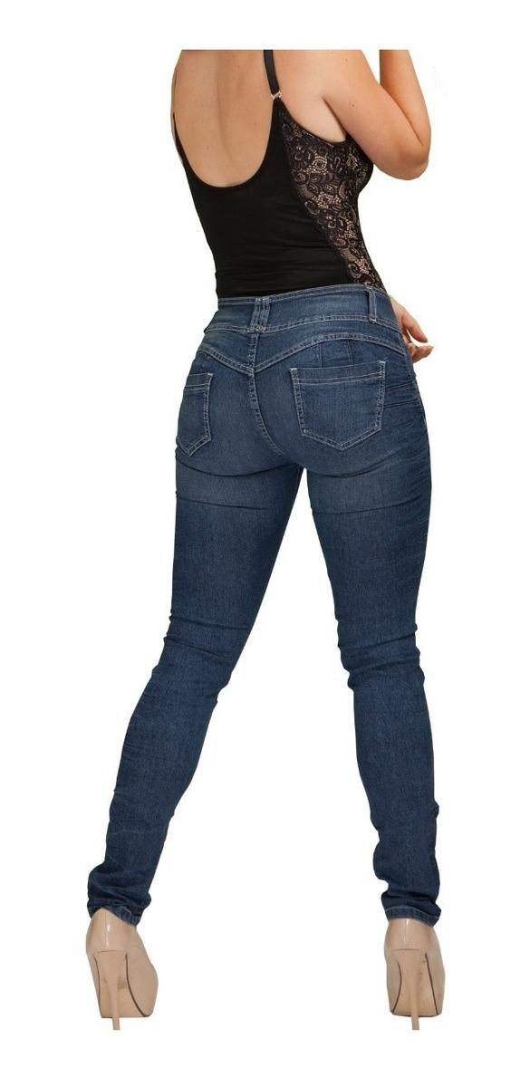 Fajas Galess Jeans Dama Push Up Pantalon De Mujer Tipo Colombiano G021 599 00