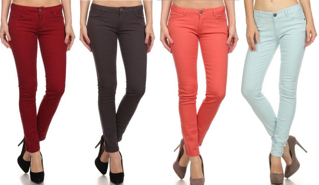 f9c8bcec1c dama para jeans Cargando zoom 3 tallas solo colores de xRqqawHZ