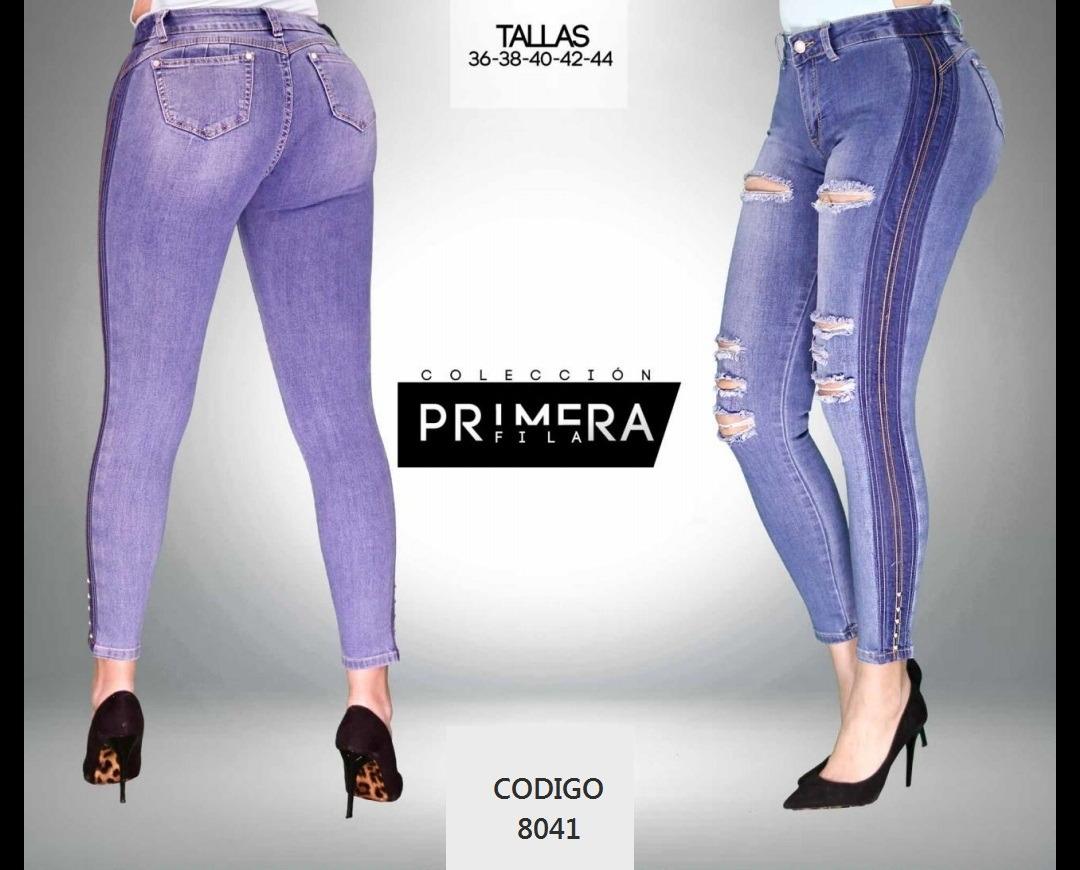 7db520ccfa191 Jeans De Dama Diseño Original -   10.000 en Mercado Libre