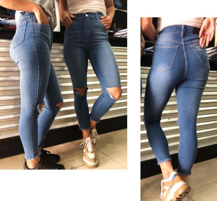 46b503985c228 Jeans De Dama