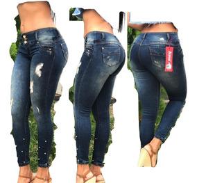 55c37b326e1c Jeans De Dama Levanta Cola