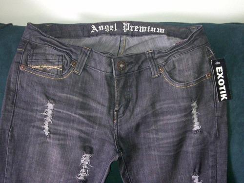 jeans de dama, marca exotic original