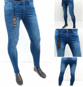 comprar online busca lo mejor zapatos genuinos Jean Elasticos Entubados Hombres - Pantalones, Jeans y ...