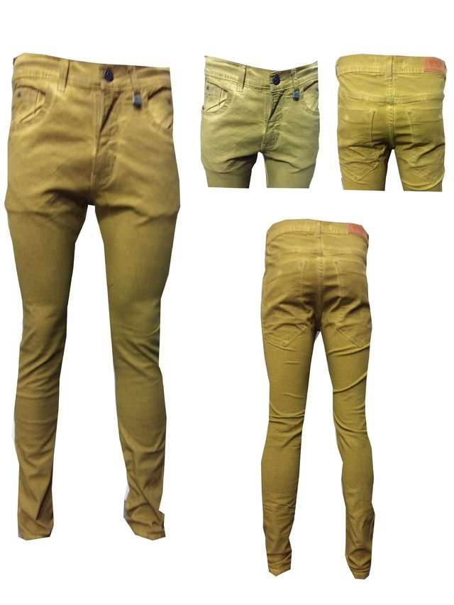 Jeans De Hombre Cobre Jeans Localizado Elastizado Chupin - $ 369,99 ...