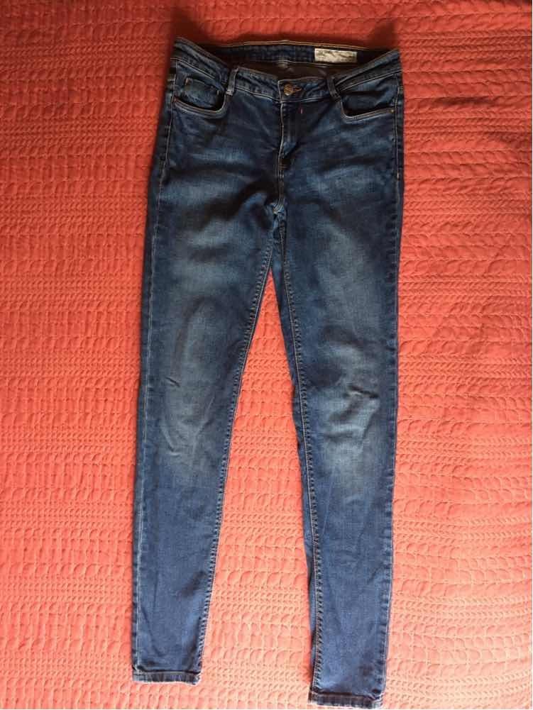 ef7bc7116 Jeans De Mujer Skinny Trf Denim Zara Talla 28 - $ 119.00