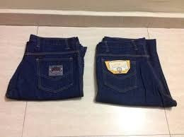 jeans de obrero triple costura