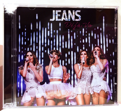 jeans deja vu cd + dvd jns nuevo