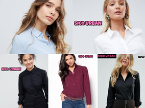 Jeans Elastizados Con Camisa Combo Ropa Mujer Envíos +