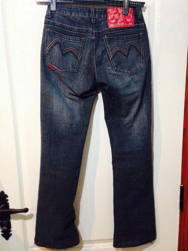 jeans ellus 36 tiro medio