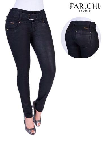 jeans farichi studio levanta enserado 66416
