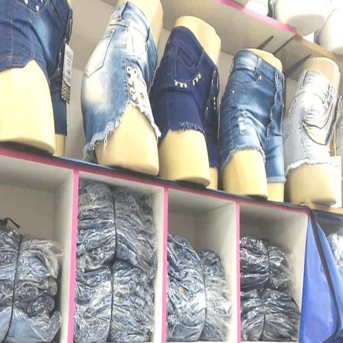 jeans feminino bermuda