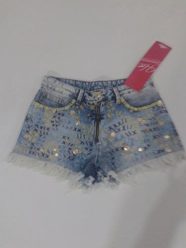 jeans feminino short
