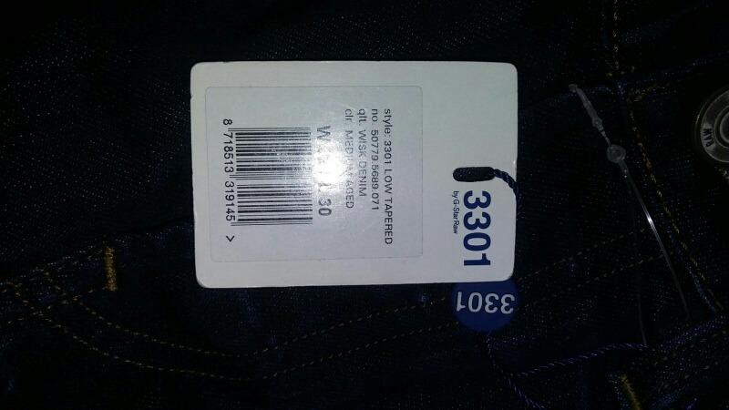 e474d36905b03 Jeans G Star Raw Tapered Azul Disponible En Todas Las Tallas ...