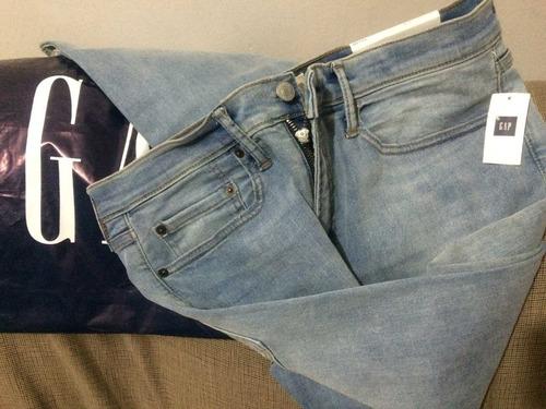 jeans gap 1969 slim high stretch... único en mercado libre