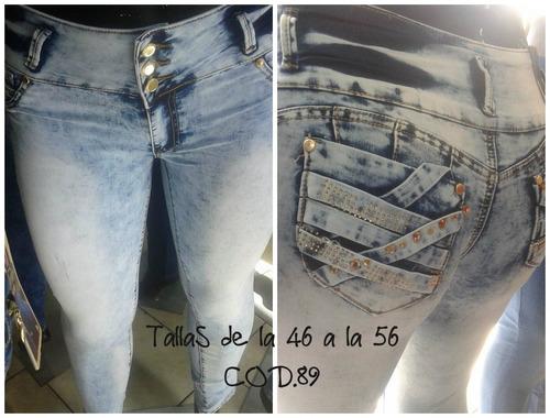 jeans hasta talla 56