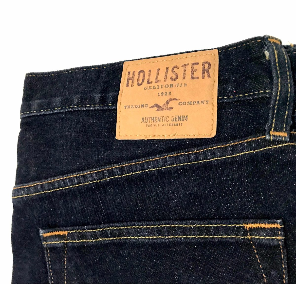 aff37a85ce9bc Jeans Hollister California Skinny 32x28 Azul Marino Hombre ...