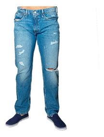 Jeans Hombre Azul Roto Levi´s 502 Jea lev 8 Tienda Chaia