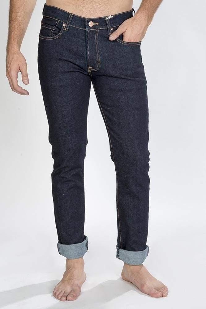 Hombre De Pantalones Caballero Fit Mezclilla Jeans Regular VMUSzp
