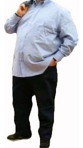 jeans hombre talles extra grandes 54 al 84 excelente