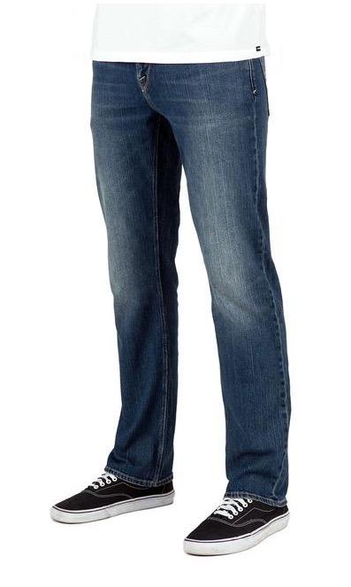 d5f8e39a9572f Jeans Hombre Volcom Solver Modern Straight Denim Oferta -   969.00 ...