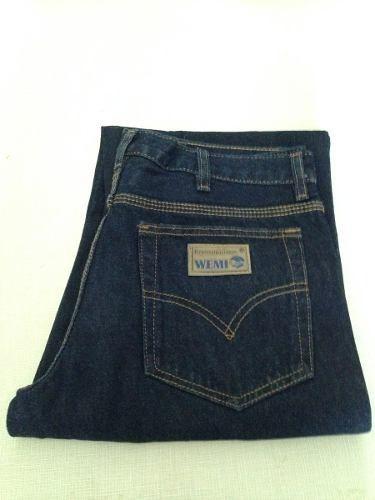 jeans industrial tres costuras 14 onz reforzado