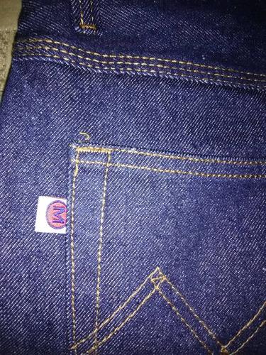 jeans industriales de triple costura