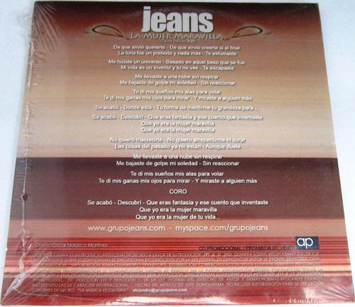 jeans - la mujer maravilla single promo nuevo