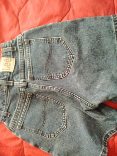 jeans lee corto