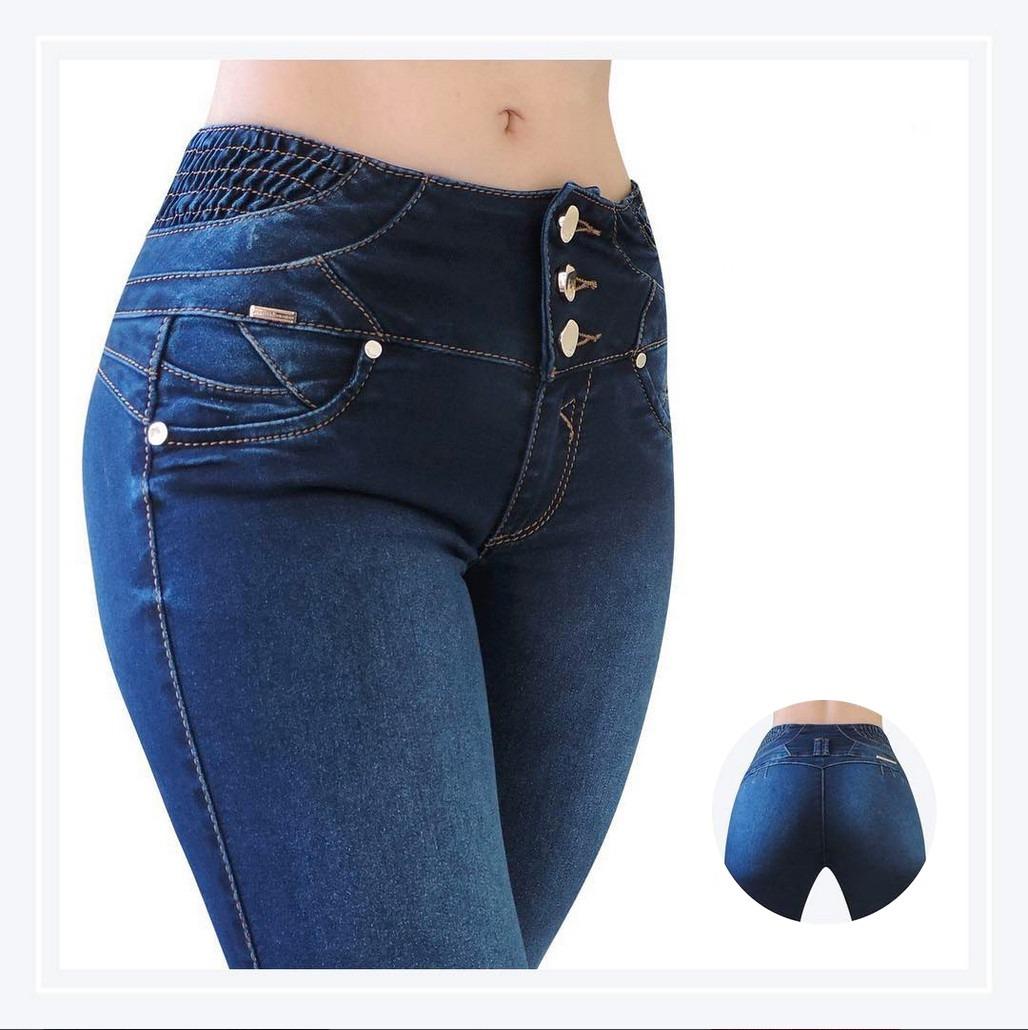 Jeans levanta pompa corte colombiano cintura y cinturilla en mercado libre - Mesa que se levanta ...