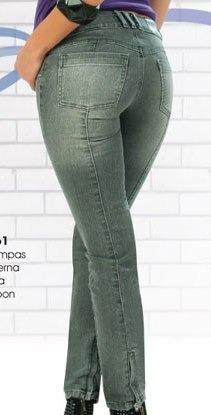 jeans levanta pompis magic modelador todas tallas y extras