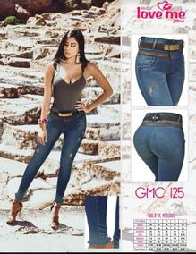66a574581c Jeans Levanta Cola Love Me 100% Originales Colombianos - Mujer ...