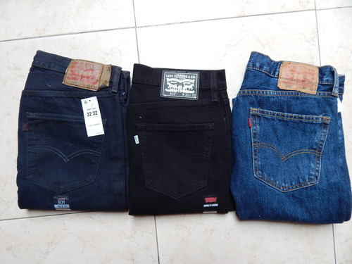 jeans levis 100% autenticos, tallas 34, 36, 38, 40.