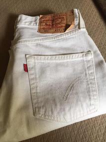 De Mujer Jean PantalonesJeans Y Joggings 501 Hombre Levi Blanco qzVLSMGUp