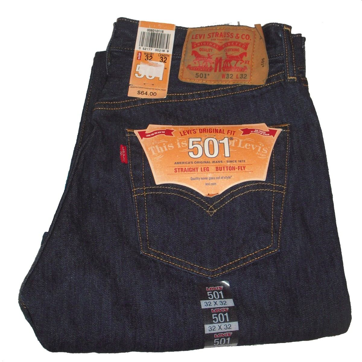 574a562e6ce00 Jeans Levi´s 501 Originales Importados Talle 42w X 32l Nuevo ...