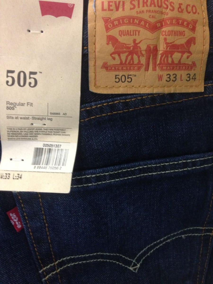 33051d04bff24 Carregando zoom... calça jeans masculina levi s 505 azul claro tradicional