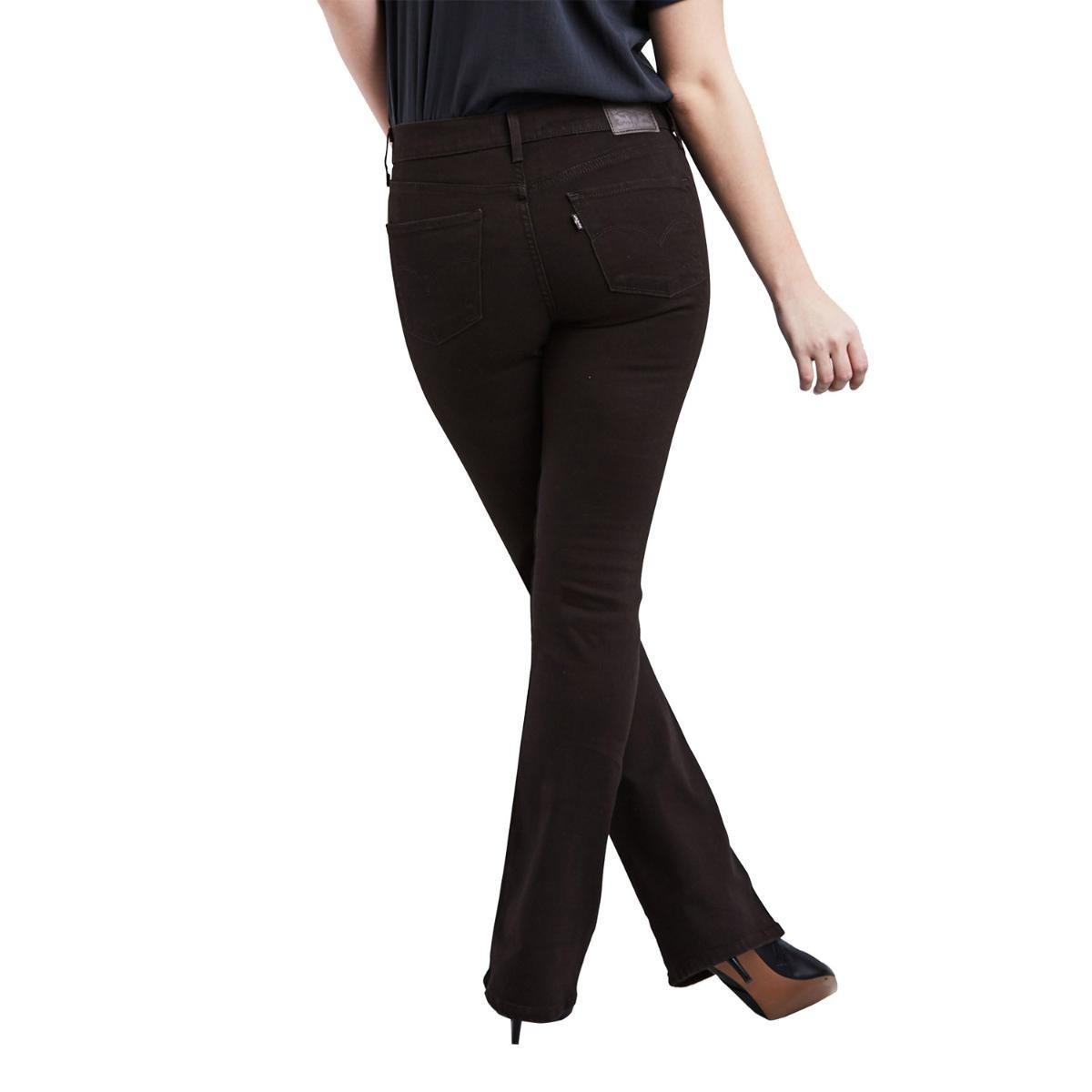 4ae83ef7a Carregando zoom... calça jeans feminina levis 315 shaping bootcut preto