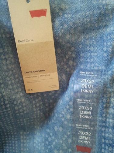 jeans levis dama skinny 100%orig talla 29  cod 13  083