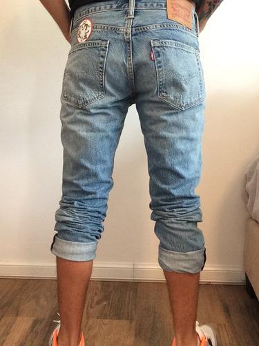 jeans levi's gastados parché imperdonable