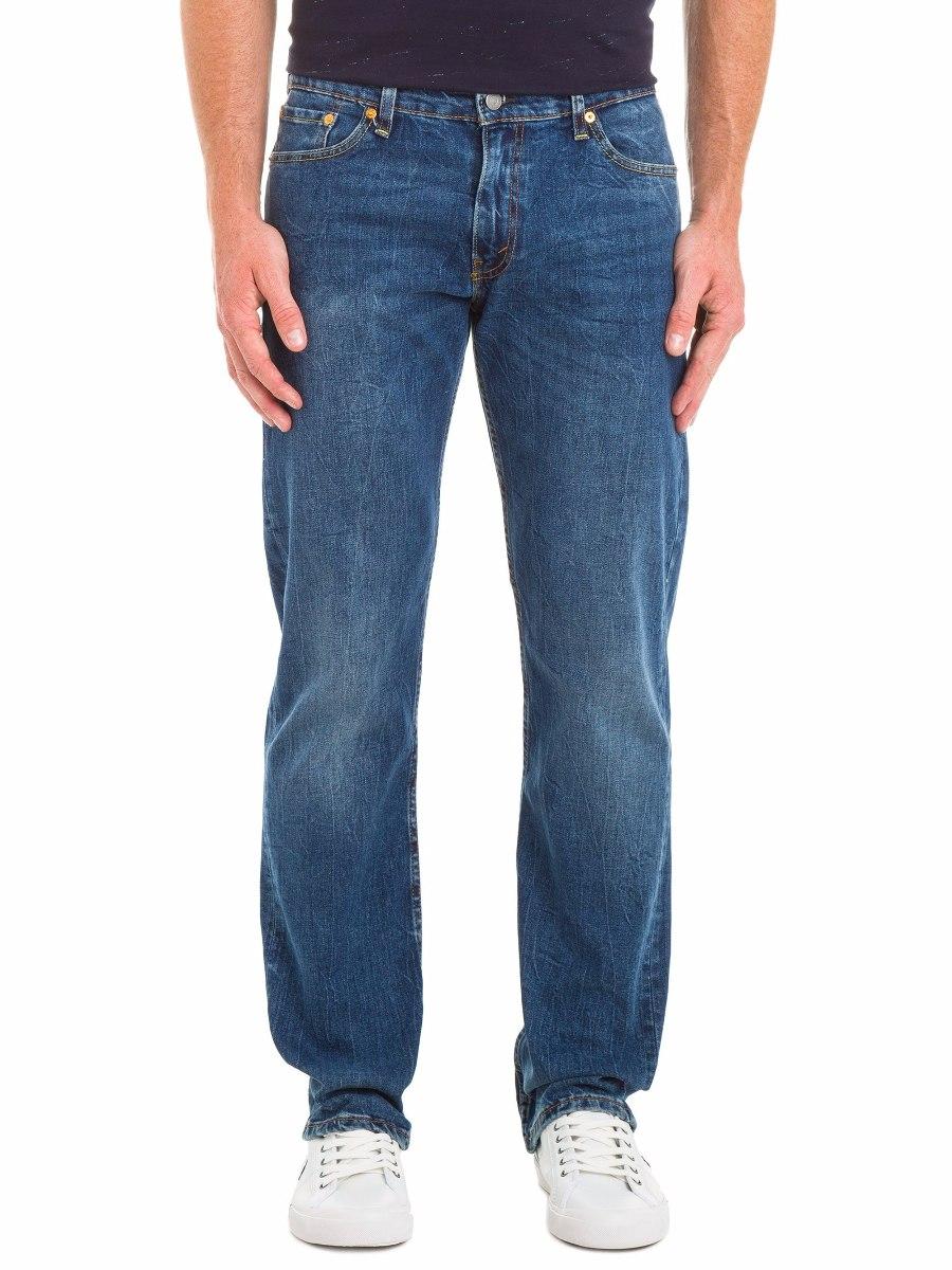 Levi´s 504 Calça Jeans Azul Tradicional Lavado Levis 501 - R  139 d433418a56c